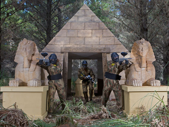 Tomb Raider Game Zone Delta Force Paintball Canberra