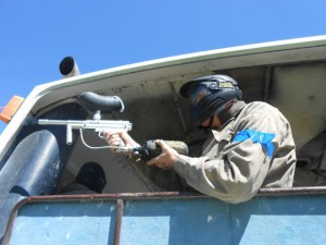 Prison Break Game Zone Delta Force Paintball Canberra