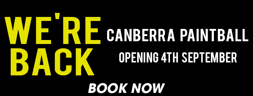 Canberra Opening Banner